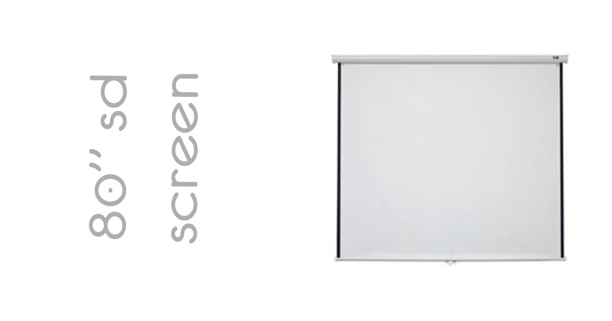 Elite 80 SD Screen