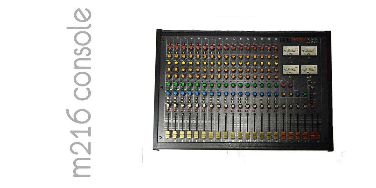 Tascam M216