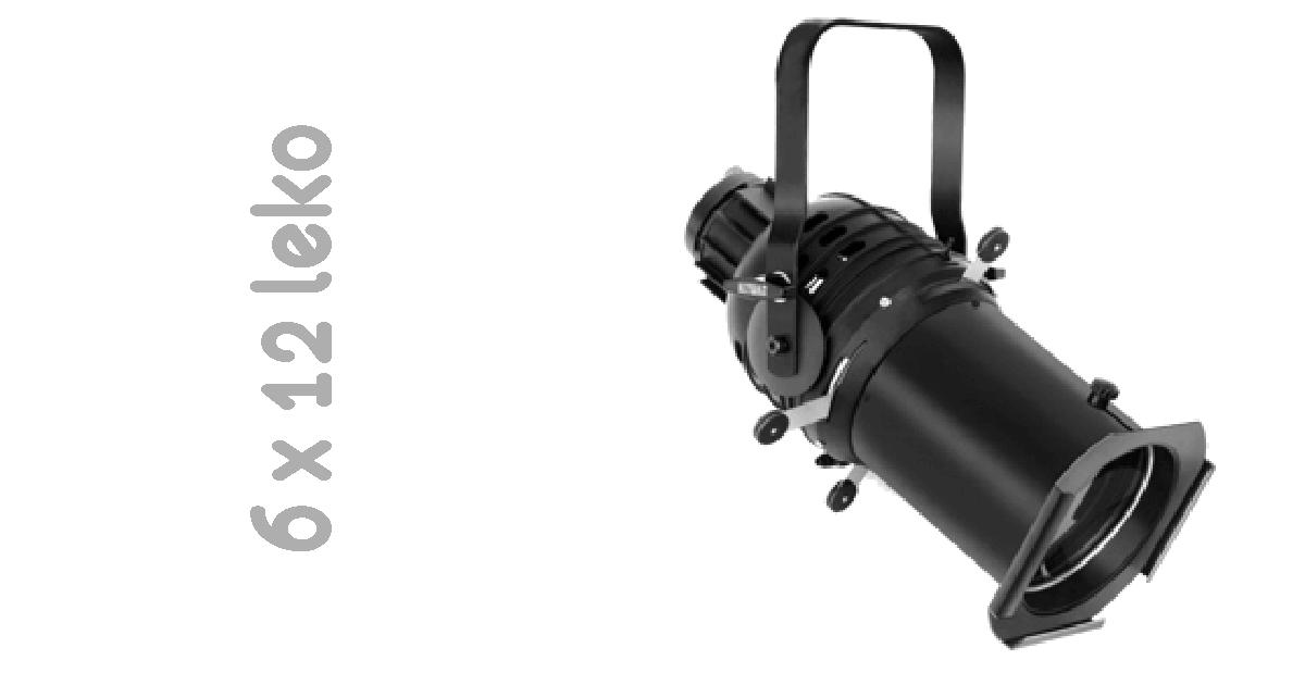 6x12 ellipsoidial reflector spot