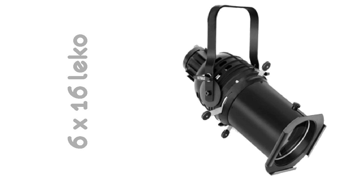 6x16 ellipsoidial reflector spot