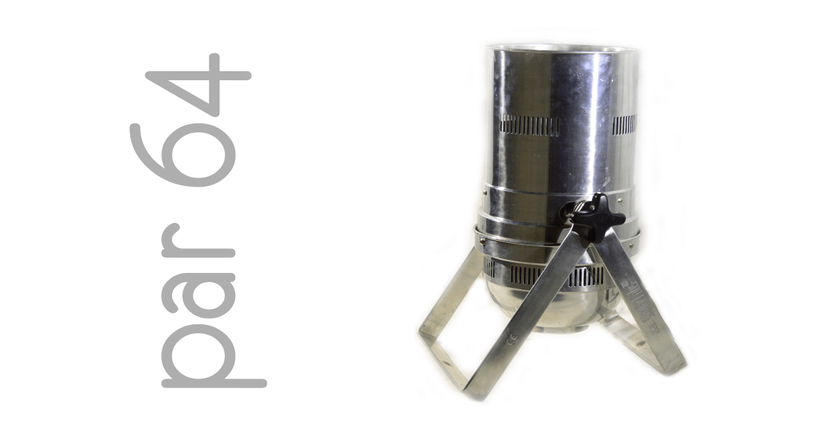 Stellar Labs 555-18551 PAR 64 uplight fixture